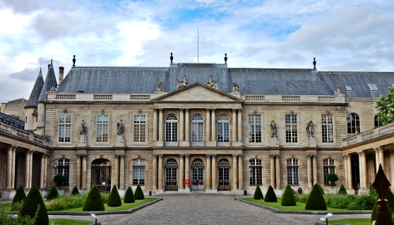 Sites des Archives Nationales à Paris, hôtel de Soubise